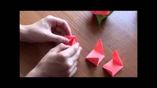 http://nashydetky.com Оригами Роза (видеоурок).wmv