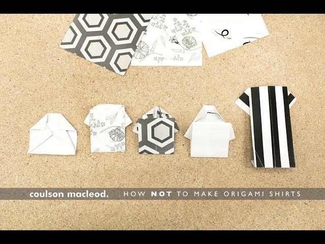 Origami Shirt | 480x640