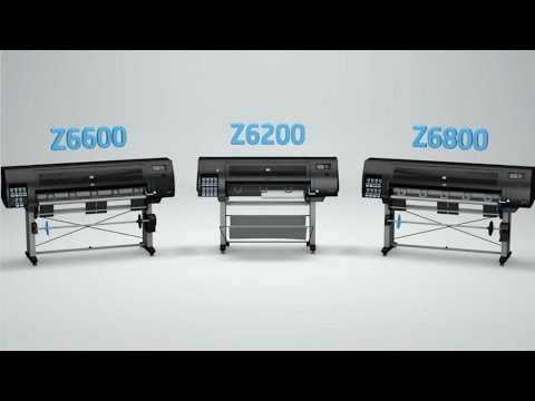 HP Designjet Production Printers - Z6200, Z6600 & Z6800