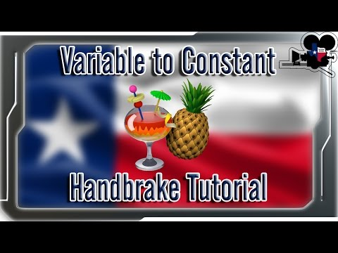 How To Convert Variable To Constant Frame Rate (Audio Sync Fix)