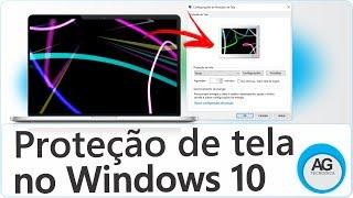 Como Colocar Proteção de Tela no Windows 10