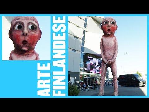 HELSINKI: Una statua che fa la pipì