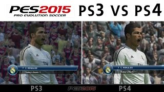 [TTB] PES 2015 - PS3 Vs PS4 Comparison - Gameplay, Graphics & More