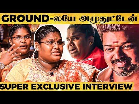 'Vijay Sir-அ அடிக்க பயந்தேன்...'- Reveals Bigil's Singapen 'Pandiyamma' - Robo Shankar's Daughter