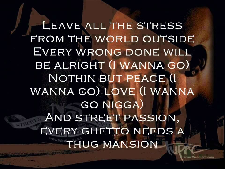 Weed Quotes Wallpaper Hd 2pac Quot Thugz Mansion Quot Ft Nas J Phoenix Lyrics Youtube