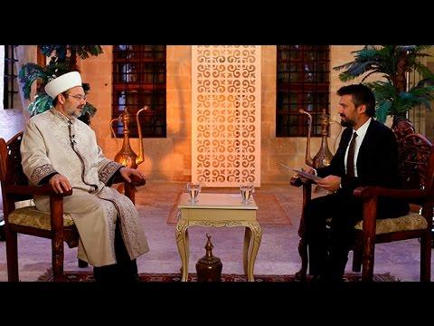 Diyanet İşleri Başkanı Görmez, Mardin'de Diyanet TV Özel Yayınına konuk oldu.