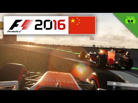 RASEREI IN SHANGHAI | China 1/2 🎮 F1 2016 #61