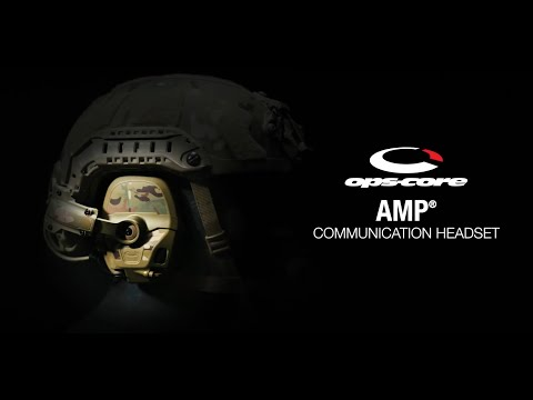 Ops-Core | AMP™ Communication Headset Product Overview