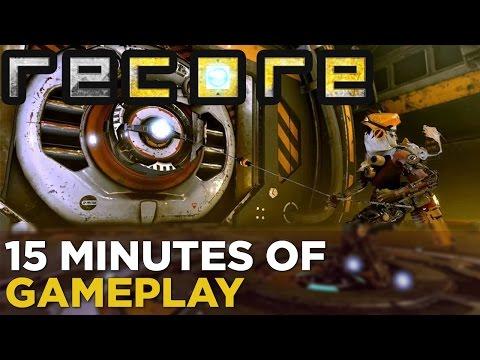 Многие возможности игры Recore показали в 15-минутном геймплейном ролике
