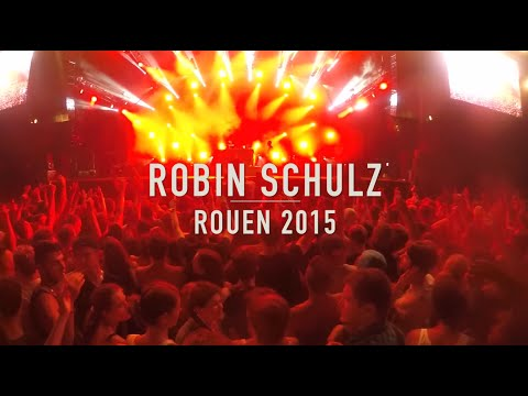 Robin Schulz Live Rouen 2015 | GoproHero4 HD