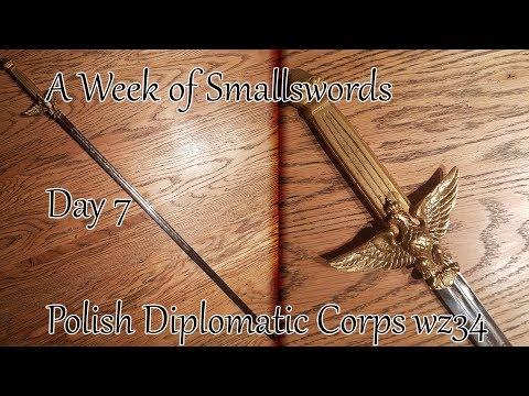 Polish Diplomatic Corps Sword (Szpada Dyplomatyczna wz. 34)