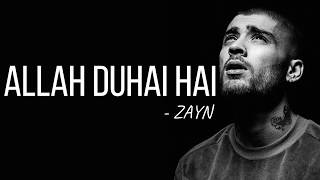 Zayn - Allah Duhai Hai (Cover) [Full HD] lyrics