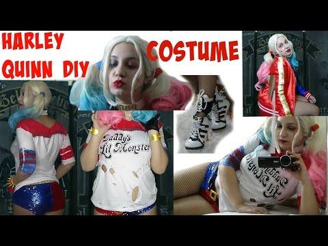 Suicide Squad Harley Quinn Costume Complete DIY