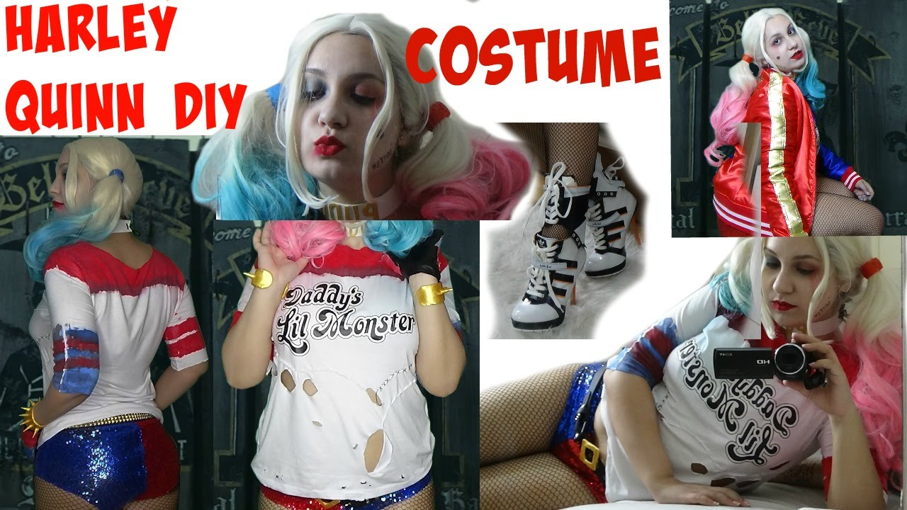 Suicide Squad Harley Quinn Costume Complete Diy