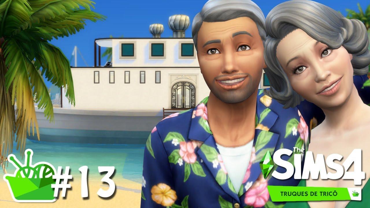 LUA DE MEL NO CARIBE #13 - Do Lixo ao Tricô - The Sims 4