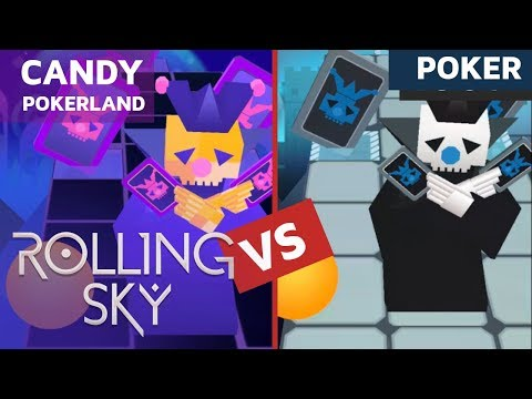 Rolling Sky Candy PokerLand vs Poker (ReSkinned Version) 100% Completed | SHAvibe
