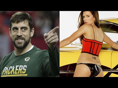 Aaron Rodgers HOOKING UP with Danica Patrick Behind Her Boyfriend