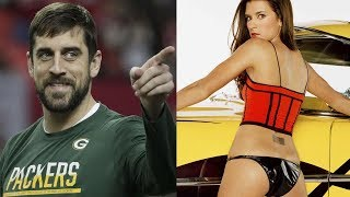 Aaron Rodgers HOOKING UP with Danica Patrick Behind Her Boyfriend's Back!!?