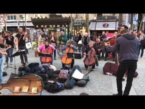 Saturday, All Classical Music Chardash Monti (4) on The Streets of Paris. March 25, 2017