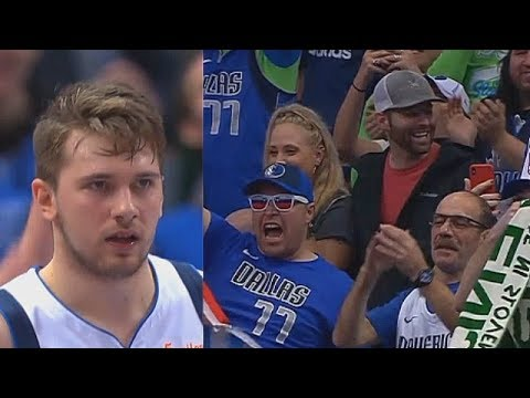 Luka Doncic Brings Mavs Crowd To Their Feet With Craziest Take Over In Final Minutes vs Blazers!