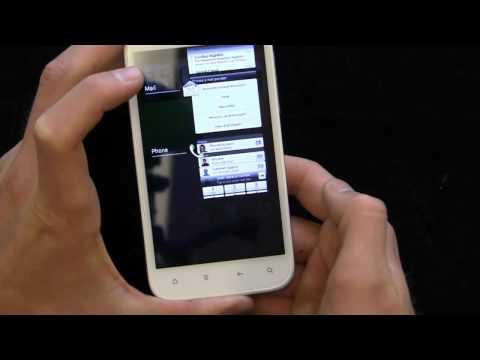 HTC Sensation XL Ice Cream Sandwich Walkthrough
