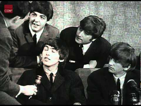 The Beatles In A Press Conference After Their Return From The USA