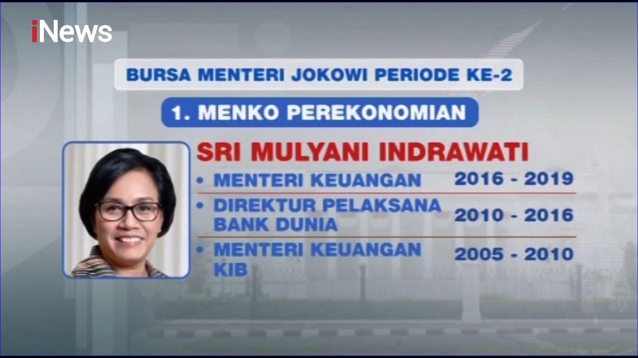 Inilah Prediksi Menteri Jokowi di Kabinet Kerja Jilid II - iNews Malam 20/10