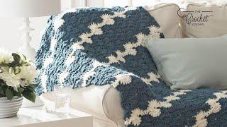 How To Crochet Catherine Wheel Stitch