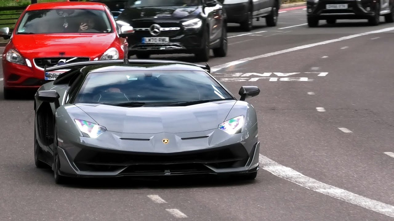 BEST OF SUPERCARS in LONDON July 2021 - Highlights