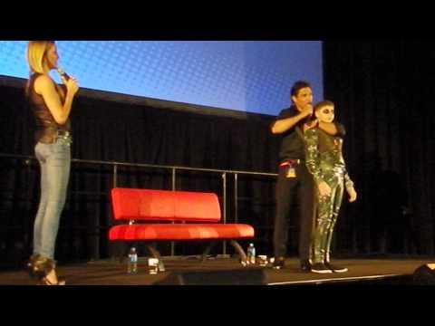 Manu Bennett and Katie Cassidy Sydney Supanova 2014  Manu's Arrow audition story