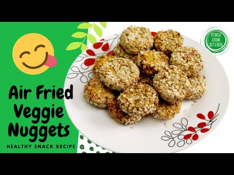 Nugget   Nuggets   Air Fried Veggie Nuggets   Ramdan Iftar snack recipe   Oats Nuggets