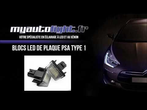 Peugeot 206 changer ampoules de plaque d 39 immatriculation for Changer ampoule garage