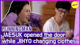 [HOT CLIPS] [RUNNINGMAN] Oh GOSH😱 I'm sorry JIHYO!! (ENG SUB)