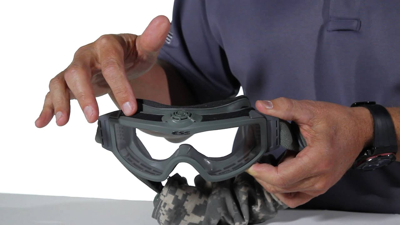 powered goggles  ESS ProfileTurbofan鈩?: Battery-Powered Ventilating Goggle - YouTube