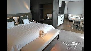 Shangri-La Hotel Singapore: Tower Wing Horizon Club Grand Premier Room