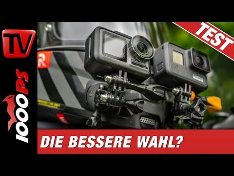 DJI Osmo Action vs. GoPro Hero7 Black - Vergleich am Motorrad