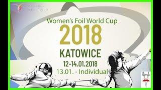 2018 Women's Foil World Cup Katowice T64 - T8 - Piste Green
