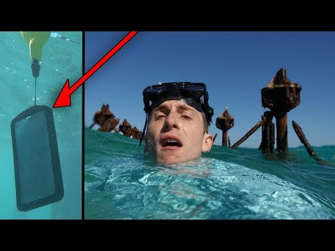 Nearly Drowned and lost my iPhone X at Sea ?! This $20 Waterproof Case Saved Me