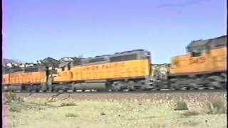 classic railroad series 621 cnw and sp at almay january 29 1994