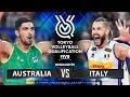 Australia Vs Italy   Highlights Men's OQT 2019