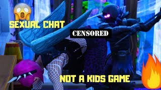 SEXUAL CHAT COMPILATION IN FORTNITE ( OMG ) ( NOT A KIDS GAME ) (TWERK)