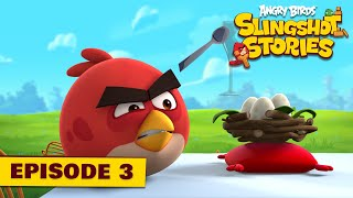 Angry Birds Slingshot Stories Ep. 3 | Cake party