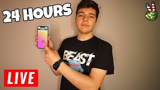MrBeast Finger On The APP CHALLENGE 🔴LIVE🔴