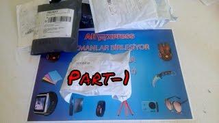 Aliexpress'ten Gelen Toplu Siparişlerim Paket Açılımı Unboxing Part-1