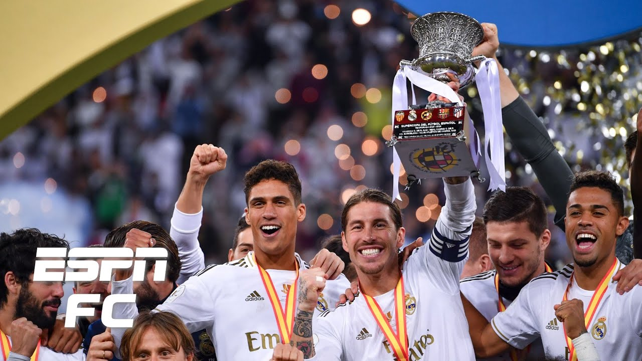 Real Madrid Beat Atletico Madrid on Penalties to Win 2020 Spanish ...