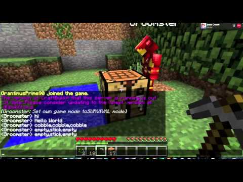Minecraft: Dormant Volcanoes Survival with Grantimus Prime & Friends (Part 1) - Test Drive / Laaag