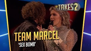 It Takes 2: Team Marcel zingt Sex Bomb