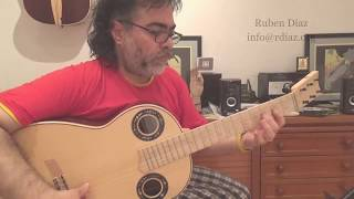 Strumming with substitute dominants 4/4 tangos/Paco de Lucia´s flamenco guitar techniques lesson