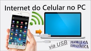 Como usar internet do celular no PC - Via USB thumbnail