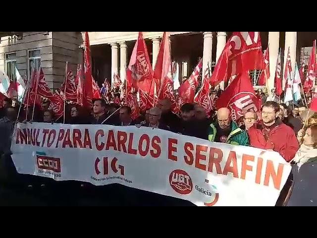 Reclaman el indulto para Carlos y Serafín